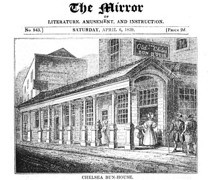 Chelsea Bun Shop (The Mirror)
