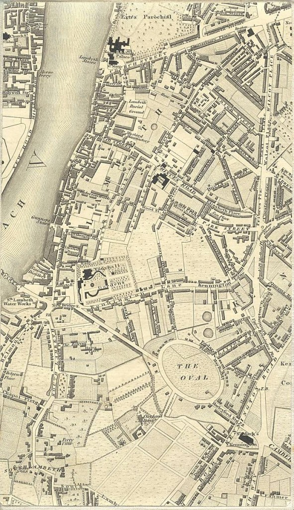 South of Pimlico - 1827