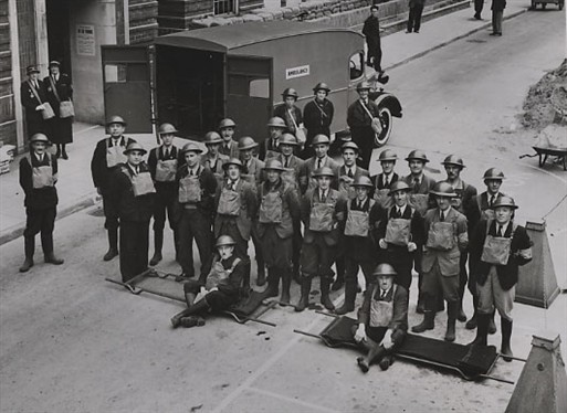 Stretcher Part at Dolphin Square (Copyright: Westminster City Archives)