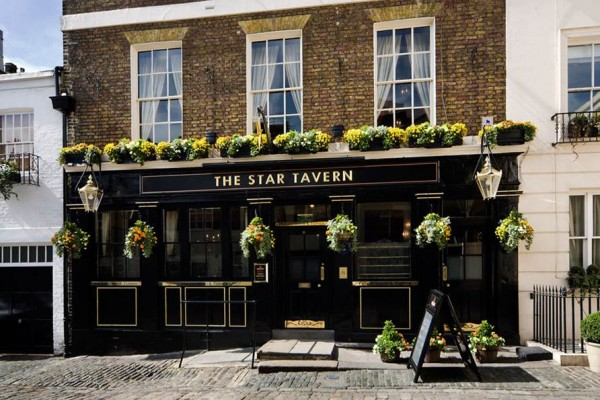 The Star Tavern (source: http://www.star-tavern-belgravia.co.uk/)
